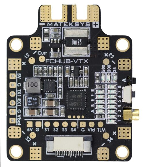 FCHUB-VTX w/5.8G VTX, PDB, BEC5V, Current Sensor