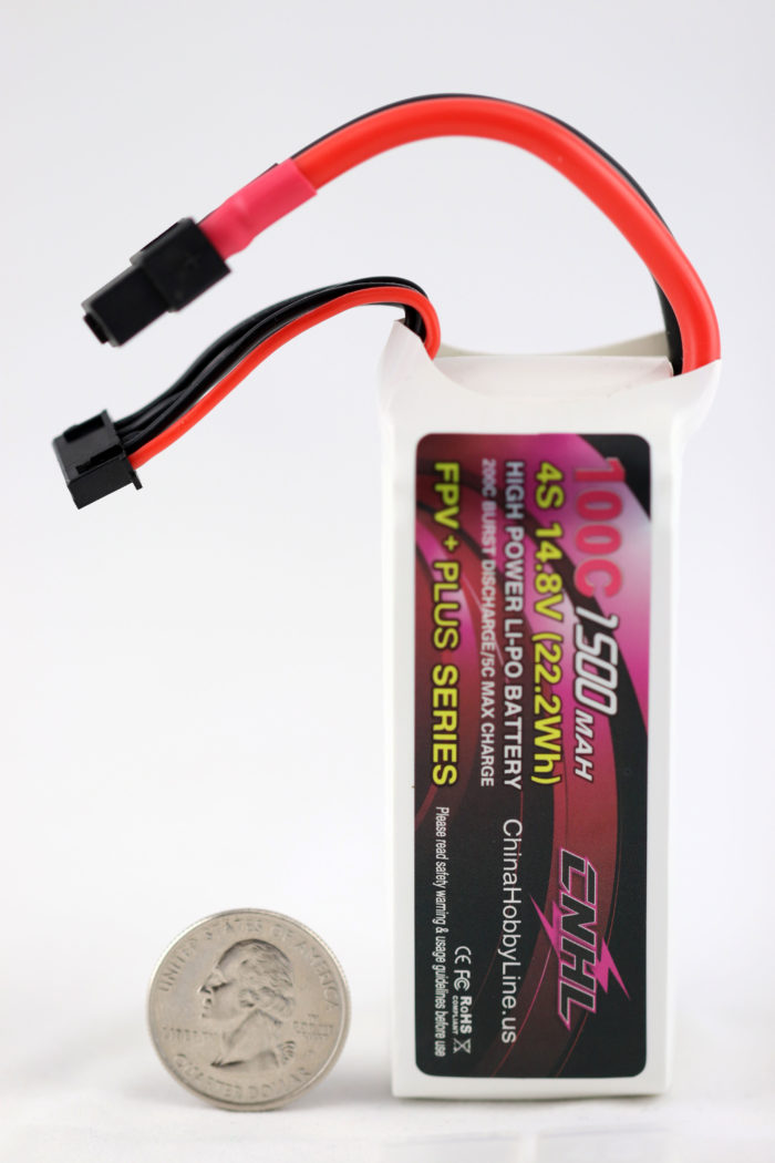CNHL G+PLUS 1500mAh 14.8V 4S 100C (200C burst) Li-Po Battery
