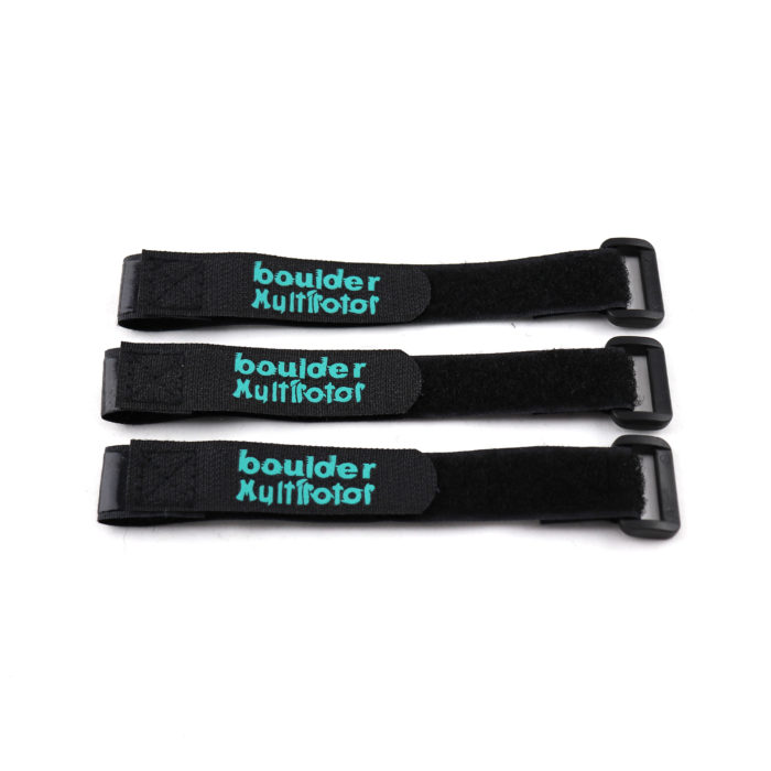 Boulder MultiRotor LIPO Straps 3-Pack