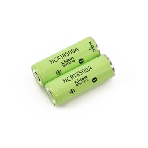 Panasonic 18500 pair Li-ion