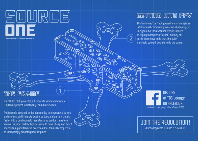 Tbs Source One V3 5 Inch Boulder Multirotor Llc