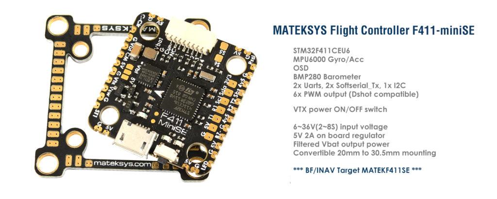 Matek F411 miniSE