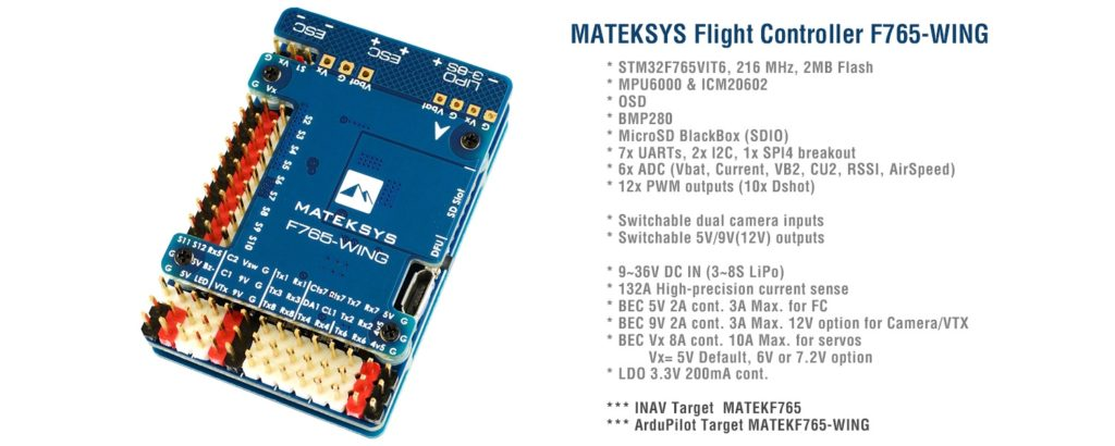 Matek F765-WING