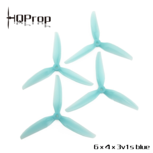 HQ Durable Prop 6X4X3V1S (2CW+2CCW)-Poly Carbonate