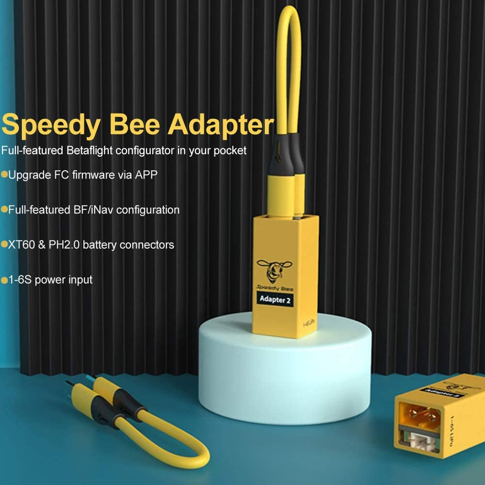 Speedy Bee Adapter 2 Betaflight//iNav Configurator Via Mobile APP Supported iOS and Android for FPV Flight Controller